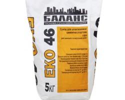 ЕКО 46 Шпатлевка цементна сіра старт 25кг