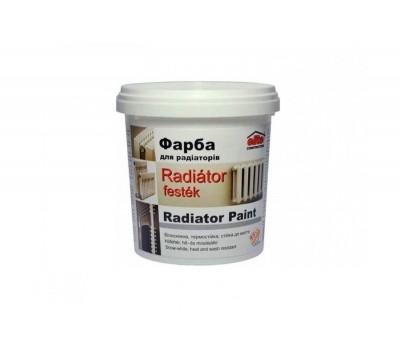 Емаль для радиаторів акрилова  0,75 кг.