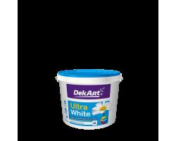 Фарба для стін та стель Ultra White TM DekArt 1.2
