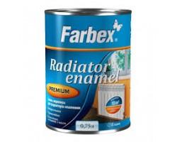 Емаль акрилова для радіаторів TM Farbex 0.75 л