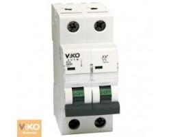 Автоматичний вимикач  VIKO 16А двополюсний