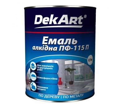 Емаль алкідна ПФ-115 сіра TM DerArt 2,8 кг