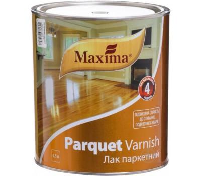Лак паркетний Максима  2,5л