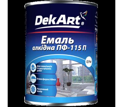 Емаль алкідна ПФ-115 салатовая TM Delfi 0,9 кг
