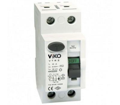 Автоматичний вимикач  VIKO 40А двополюсний