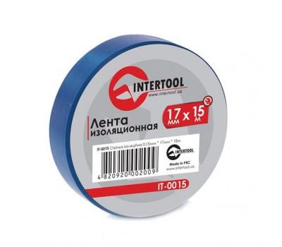 Лента изоляционная 0.15mm*17mm*15m синя IT-0015