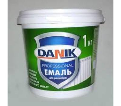 Емаль для радіаторів 1кг DANIK