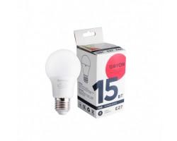 Лампа светодиодная A65 15w 4100K E27 DAYON 1708-EM