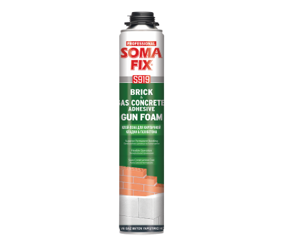 Пена-клей монтажная SOMA FIX S919 для кирпича и газобетона
