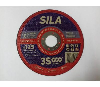 Круг отрезной метал SILA 125  1,2*22