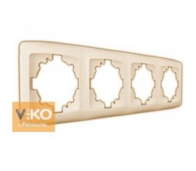 Рамка VIKO 4-я крем 2104