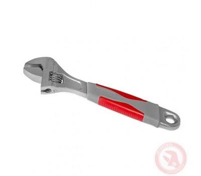 Ключ разводной 200мм, изолированная рукоятка, нике