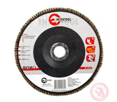 Диск шлифовальный лепестковый 125 * 22мм зерно K36