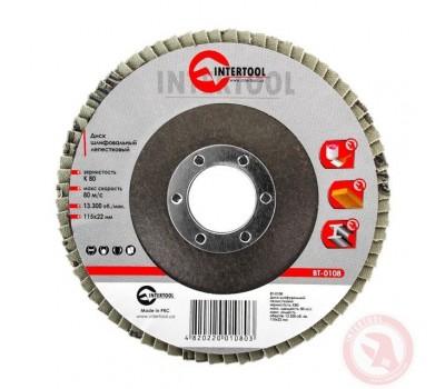 Диск шлифовальный лепестковый 115 * 22мм зерно K80