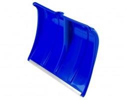 Лопата для снега пласт. с мет. планкой синяя