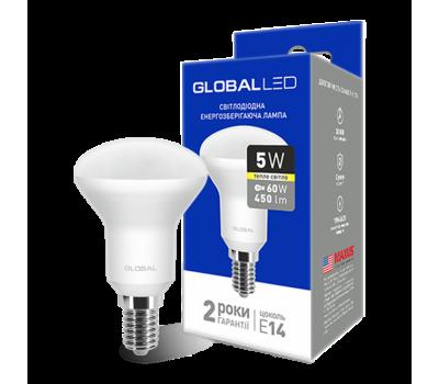 Лампа Global LED R50 5W 3000K 220V E14