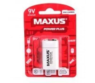 Батарейка сол. MAXUS 6F22-9V-C1
