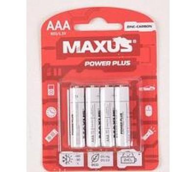 Батарейка сол. MAXUS R03-AAA-C4