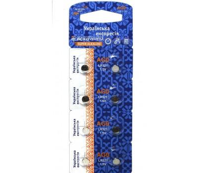 Батарейка щел. ACKO AG0. LR521
