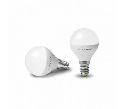 Лампа LED EuroLamp G45 5W E14 4000K