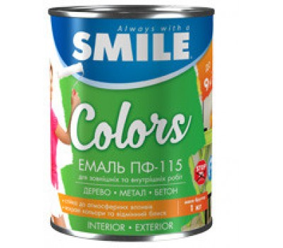 Емаль ПФ-115 красная 0,9 Smile