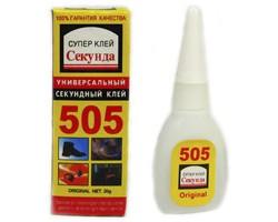 Клей 505 суперклей 20 г 1шт