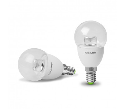 Лампа LED EuroLamp G45 5W E14 3000K