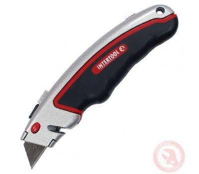 Нож с трац. лезвием НТ-0516