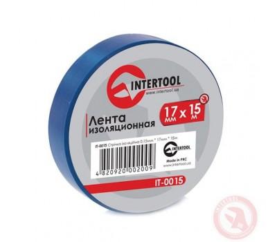 Лента изоляционная 0.15mm*17mm*15m синяя IT-0015