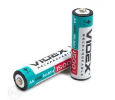 Батарейка акк. videx АА 1500mAh 1 шт.