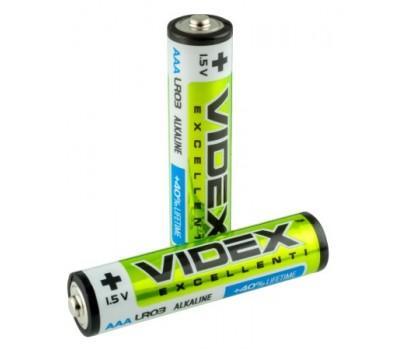 Батарейка Videx  щел. LR03/AAA