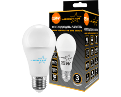 Светлодиодная лампа LED STAR 15w A60 E27