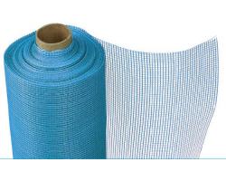 Сетка штукатурная 5*5 плотность 140 гр/м2 синяя