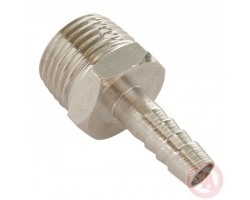 Переходник с наружной резьбой 1/2 на шланг 10ммPT-