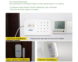 Сигнализация GSM для квартиры/дома